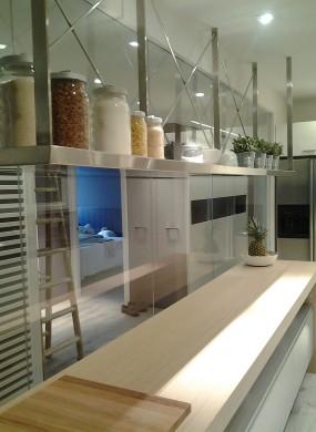 Cocina y espacio