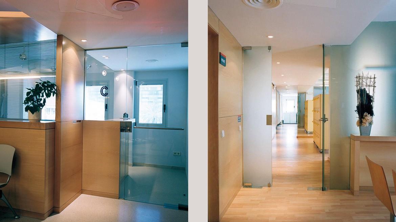 Dise o interiores clinica corachan barcelona - Diseno interiores barcelona ...